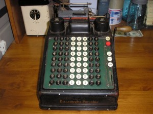 Burroughs Portable Adding Machine
