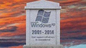 Goodbye, Windows XP