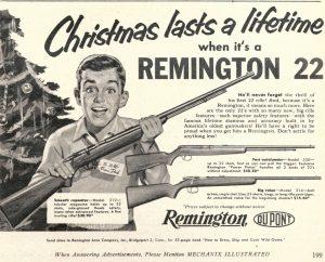 Remingtons? For Christmas?